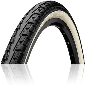 "Continental Ride Tour Cubierta 27 x 1 1/4"" con alambre, black/white"
